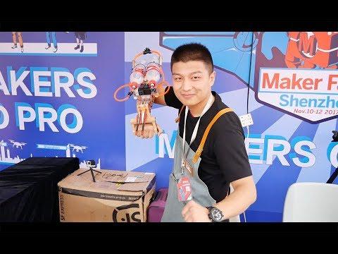 Vlog #60: Maker Faire Shenzhen 2017, China