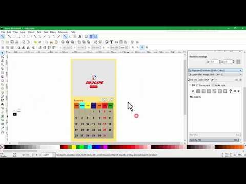 Inkscape Clander Design thumbnail