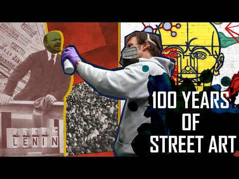 History Of Street Art: How Contemporary Street Art Was Inspired By The Russian Revolution