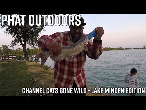 PHAT Outdoors | Channel Cats Gone Wild | Lake Minden Edition | Camp Cooking