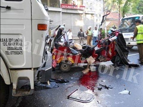 Traffic Accidents in Sri Lanka - Colombo CCTV Clips