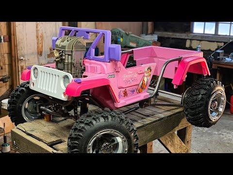 The Ultimate Princess Jeep Build Part 2