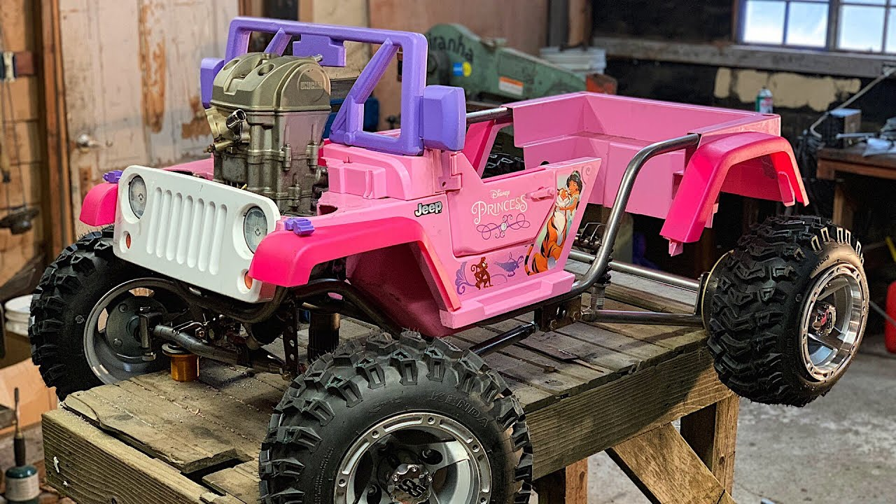 The Ultimate Princess Jeep Build Part 2
