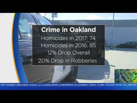 OAKLAND CRIME:  Crime rate tumbles in Oakland