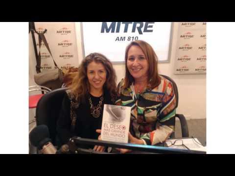 Luciana Mantero presenta su libro #ElDeseoMasGrandeDelMundo en Mitre Córdoba