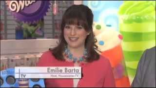 Wilton Features Treat Pops on Housewares-TV (Emilie Barta, Video Producer/Host)