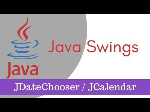 How to Use JDateChooser or JCalendar in Java Swings Part 9