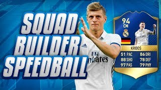 THE SECOND PACK!? INSANE TOTS TONI KROOS SQUAD BUILDER SPEEDBALL!!