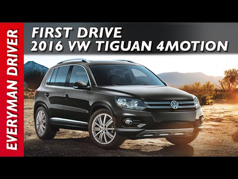 Here's the 2016 Volkswagen Tiguan 4Motion on Everyman Driver