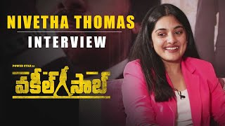 Nivetha Thomas Interview - Vakeel Saab | Biggest Power Packed Blockbuster | Pawan Kalyan Image