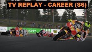 MotoGP 17 | CAREER RACE #101 | MotoGP | SACHSENRING 9/18 | TV REPLAY | GAME