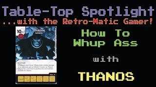 Dice Masters Spotlight: The Mad Titan - Thanos the Infinite