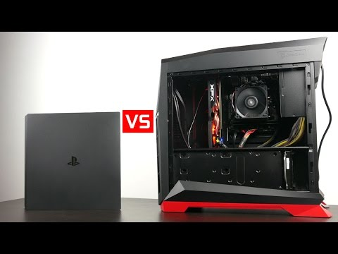 Playstation 4 Pro vs $550 Gaming PC