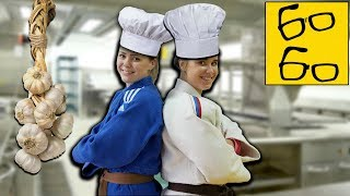Кулинарный батл самбисток, алкодефлорация Грандмастера и женская самозащита / Воскресный оффтоп