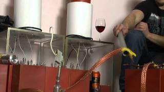 BIG capacitor discharge