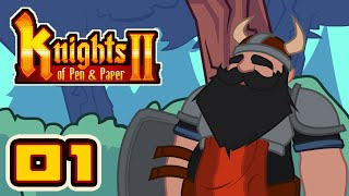 Save Our Precious Rats! - Let's Play Knights of Pen & Paper 2 - Part 1