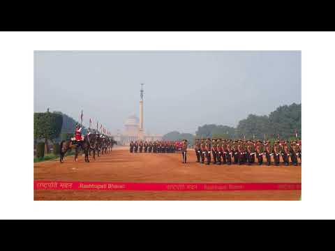 President body guard Changing Ceremony