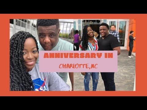 Our Anniversary In Charlotte,NC | VLOG | Doves Nest