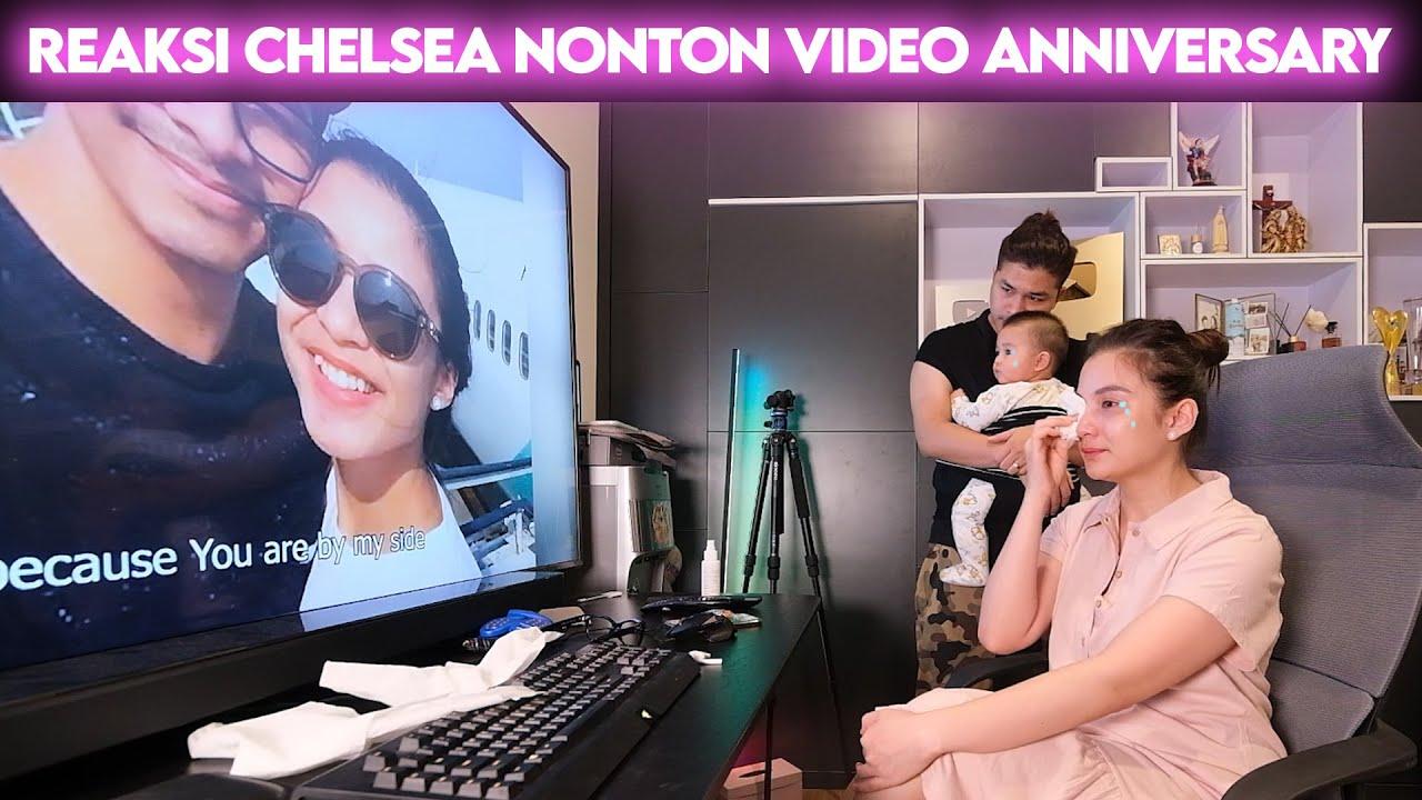REAKSI CHELSEA NONTON VIDEO 14TH ANNIVERSARY DARI GLENN