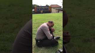 Indonesian Police Amazing shooting skill