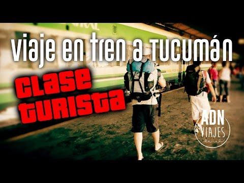 Viaje En Tren A Tucumán (en Clase Turista)
