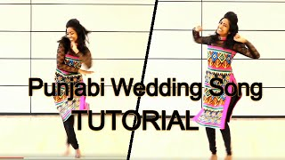 Punjabi Wedding Song | Dance Tutorial | Hasee to Phasee