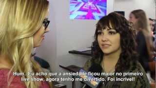 Jennel Garcia - Entrevista 'TOP 12 Elimination Show'