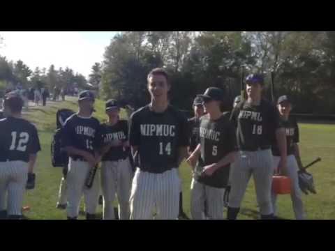 Nipmuc Baseball Player Accepts the challenge