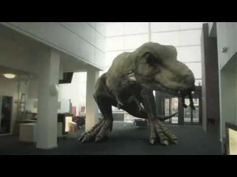 Thumbnail: T. Rex In The Atrium (2010)