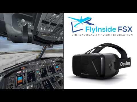 Flying the PMDG 737NGX in Oculus Rift DK2 with FlyInside FSX