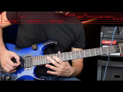 Easy (like Sunday Morning) Guitar Lesson (Solo)