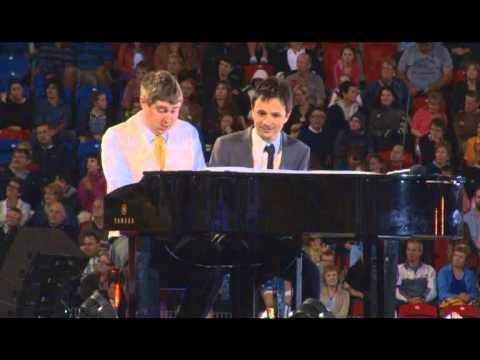 SO Asia Pacific Games 2013 - Stewart Abbott & John Foreman Playing A Medley
