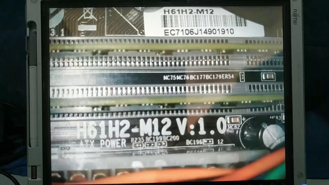 ECS H61H2-M12 AUDIO DESCARGAR DRIVER