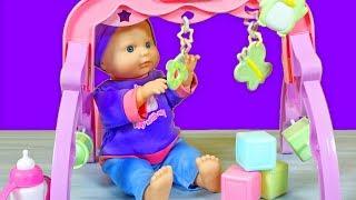 YEPYEN Oyun Park Oyuncak Seti  Bebek Bakma Oyunu  EvcilikTV