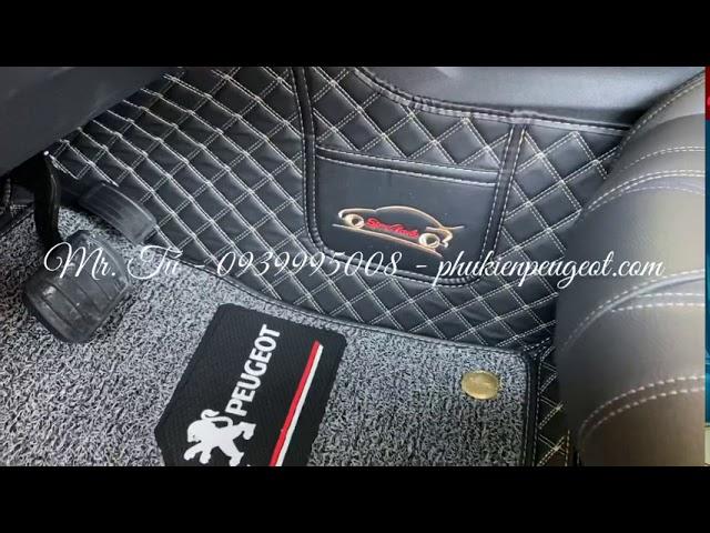 [ Thực Tế ]  Full phụ kiện xe Peugeot 3008 All New màu trắng