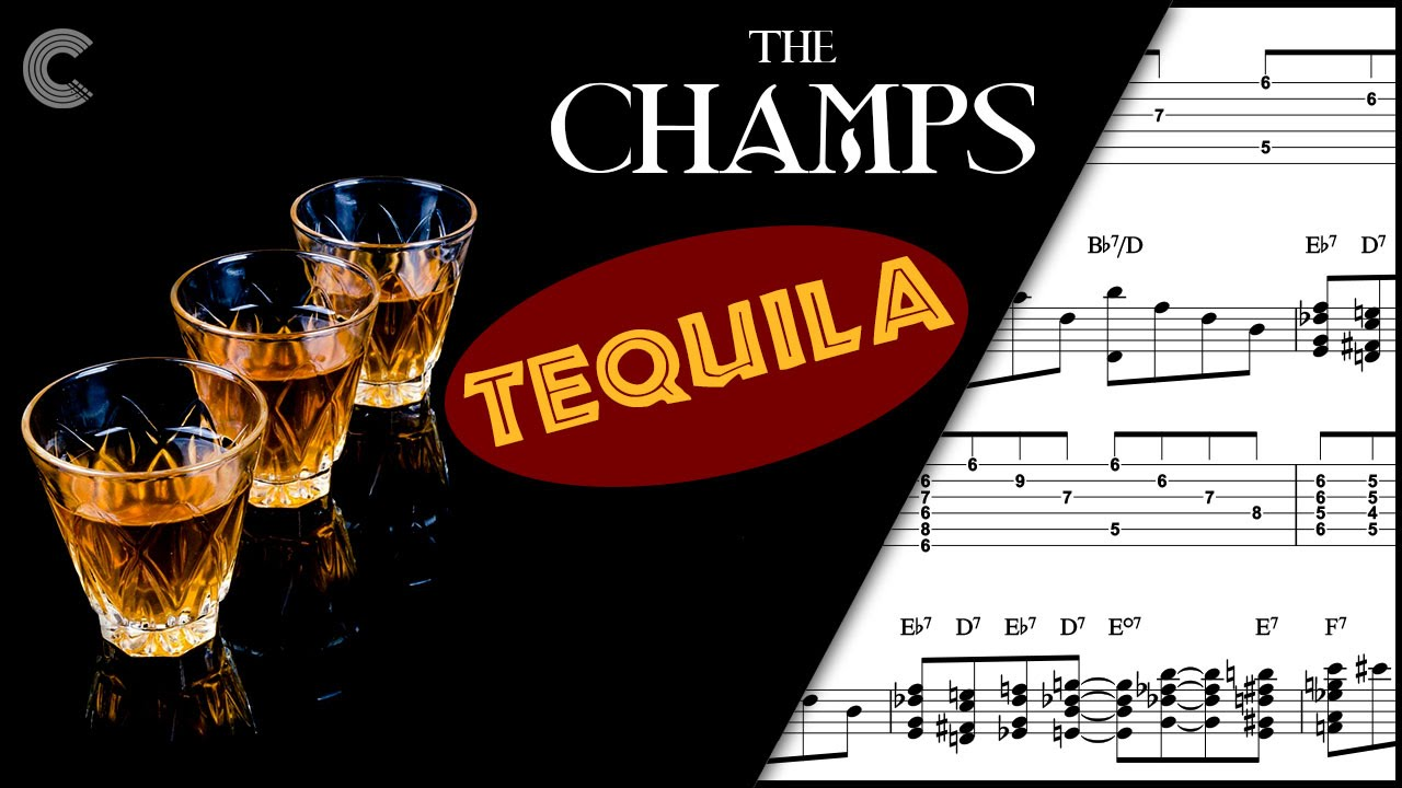 Guitar Tequila The Champs Sheet Music Chords Vocals Youtube
