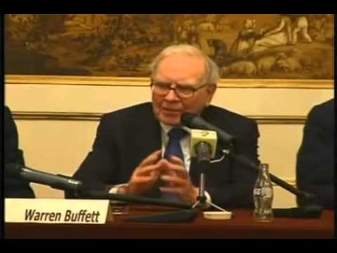 Warren Buffett rare but excellent interview with European MBA students
