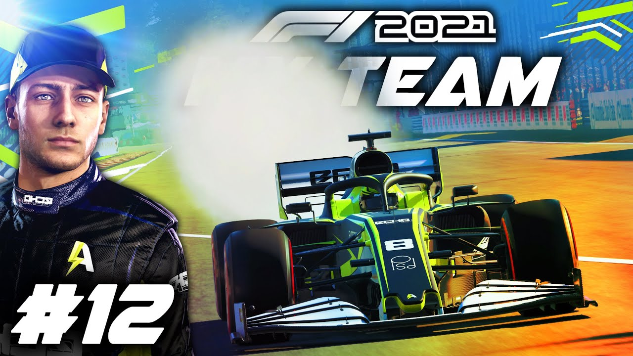 F1 2021 MY TEAM CAREER Part 12: FLOOR DAMAGE FIRST TIME ON THIS GAME?! SMOKING CAR! & HUGE AI CRASH!
