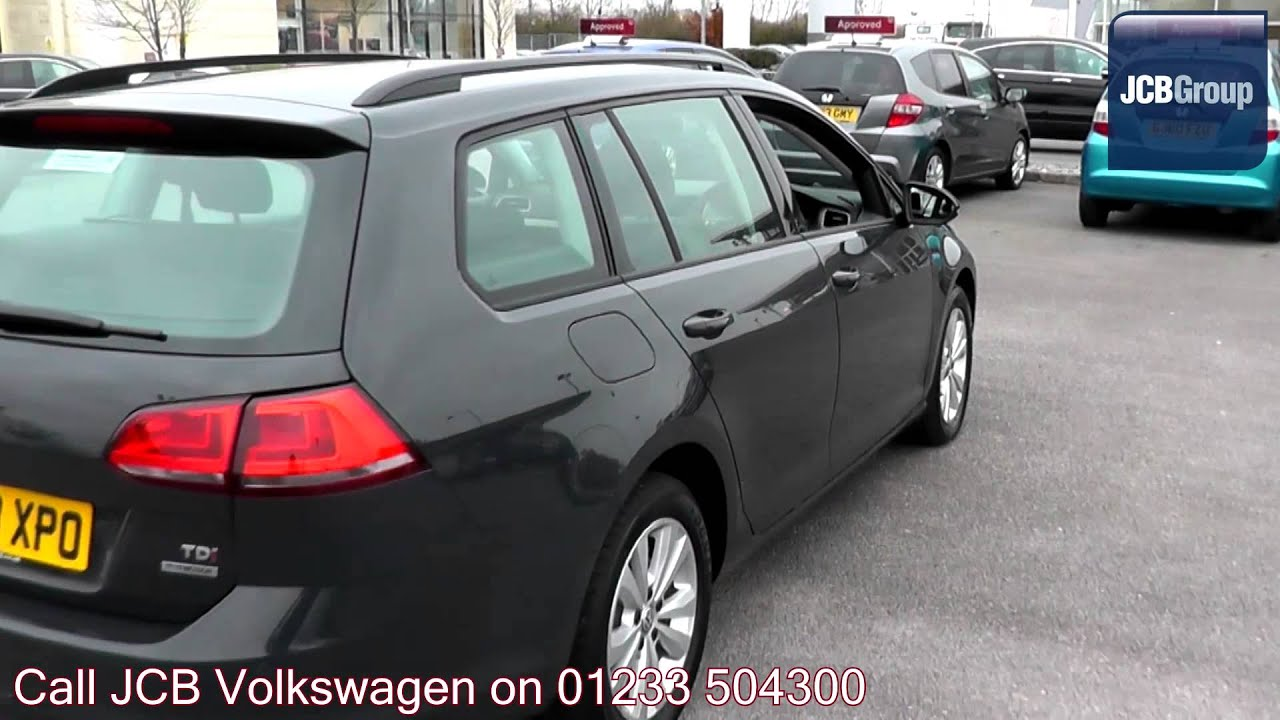 2013 Volkswagen Golf Estate 1 6 Tdi Se Urano Grey Gk63xpo