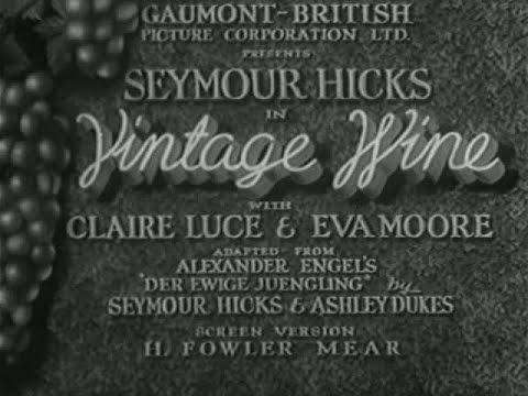 Vintage Wine [1935]
