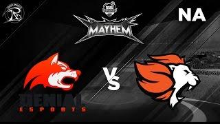 Selfless vs Denial - Demi-Finale - Midseason Mayhem - RLCS NA - Saison 3 - Semaine 3 - Rocket League