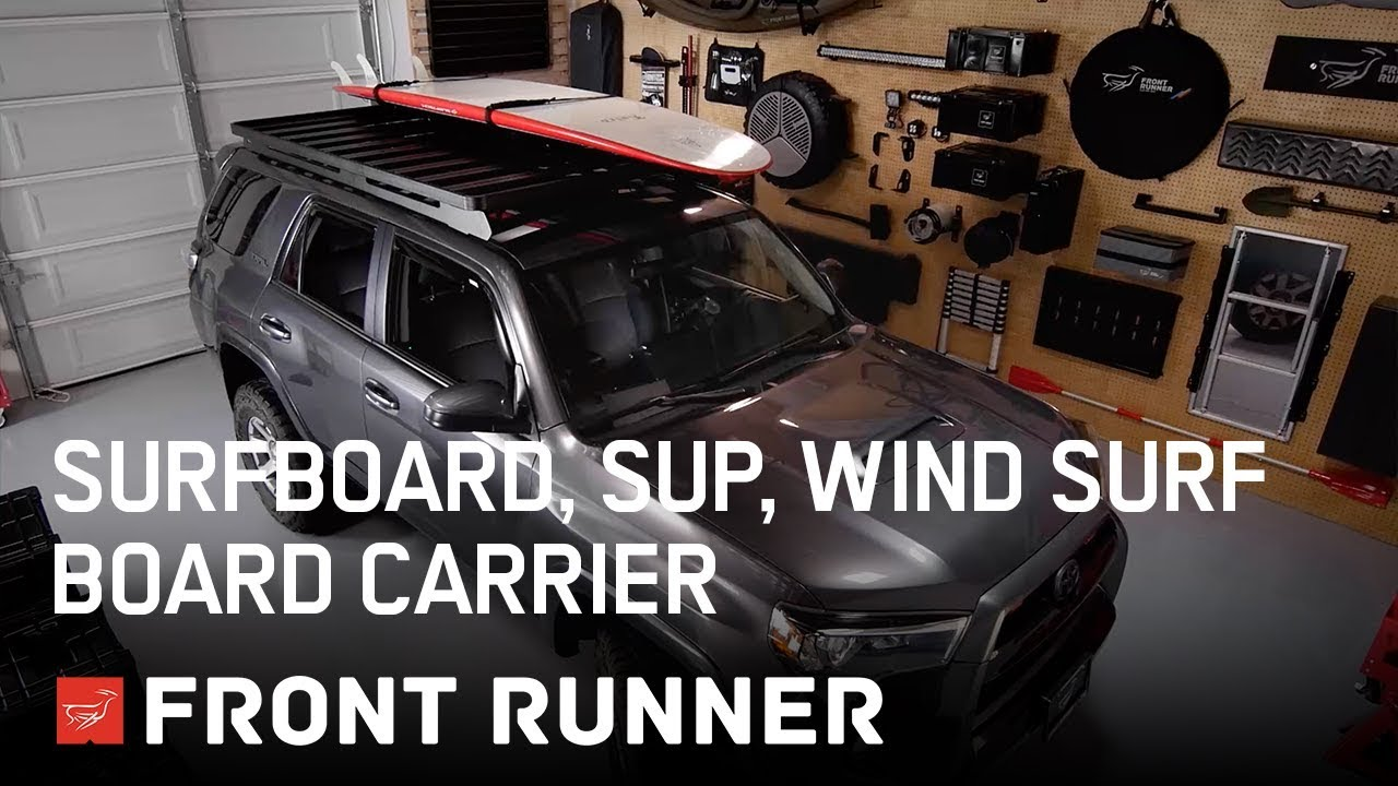 pro surfboard windsurf paddle board carrier by front runner