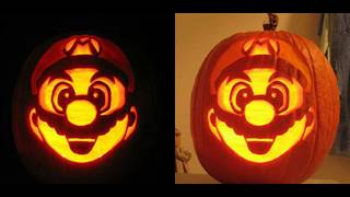Free Printable Halloween Pumpkin Carving pattern Ideas