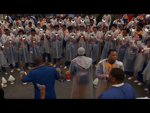 Edna Karr vs Landry Walker Marching Band - 2018 Bacchus Mardi Gras Parade