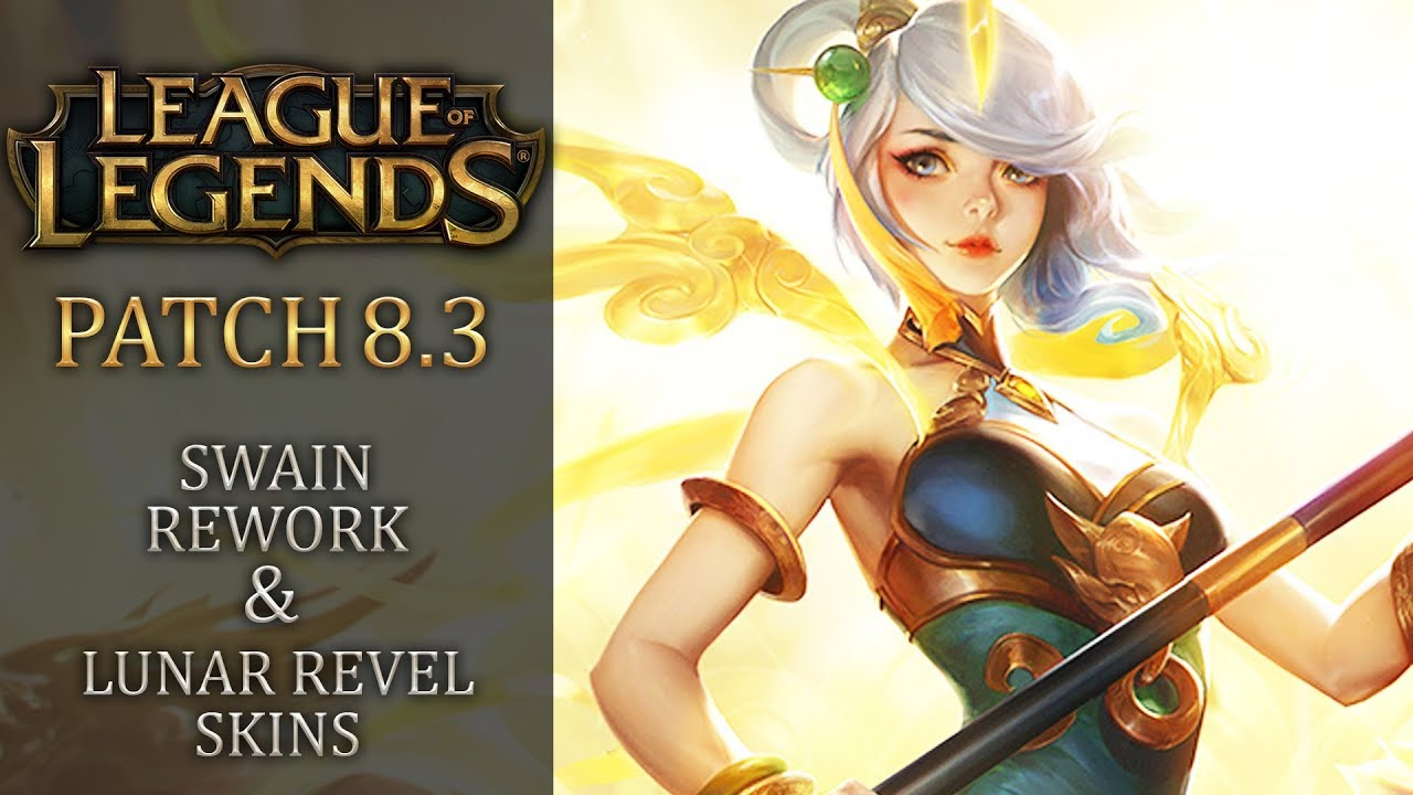 League of legends new patch notes