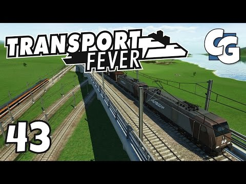 Transport Fever - Ep. 43 - Double-Headed Trains! - Transport Fever Gameplay