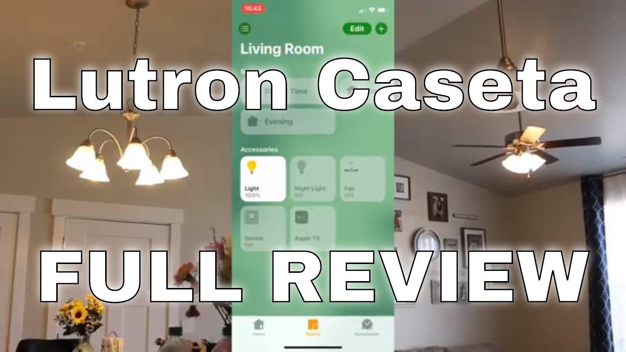 lutron caseta wireless smart lighting full review fan control with app comparison