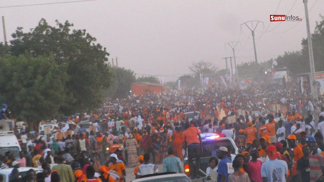 Meeting Coalition Idy 2019 à Mbacké: Le candidat Idrissa SECK bat le record de la mobilisation