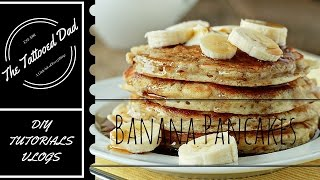 Quick and Easy Banana Pancakes from Scratch