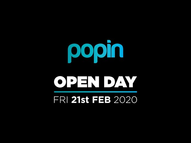 Popin Open Day - 21/02/2020